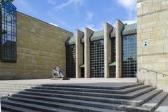 Neue Pinakothek in München Stockbild