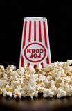 Neue Popcorn-Zeit Stockbild