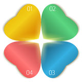 Neue Produkte der Blumenthemaschablonenseitenbroschüre Lizenzfreies Stockfoto