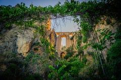 Neue Ronda-Brücke von der Schlucht Lizenzfreies Stockfoto
