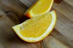 Neue saftige orange Scheiben Lizenzfreie Stockfotos