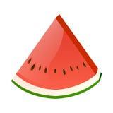 Neue Scheibe der Wassermelone Stockfotografie