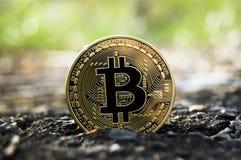 Neue Schlüsselwährungs-, bitcoin- und Computergebühr finanzieren Karte Stockbild