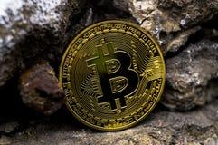 Neue Schlüsselwährungs-, bitcoin- und Computergebühr finanzieren Karte Lizenzfreie Stockbilder