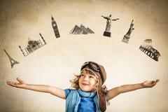 Neue sieben Wunder der Welt. Reisekonzept Stockbild