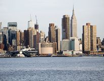 Neue Skyline Stockfotos