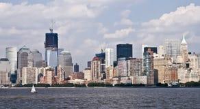 Neue Skyline am Tag Stockbilder