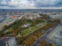 Neue småstad, Heldenplatz, Weltmuseum Wien, Prinz Eugen von Savoyen, Ephesos museum, Nat österrikare Arkivfoton