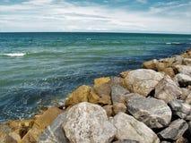 Neue Smyrna-Strand-Anlegestelle Lizenzfreies Stockbild