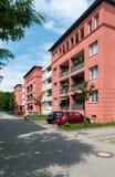 Neue städtische Apartmenthäuser Lizenzfreies Stockbild