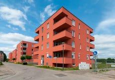 Neue städtische Apartmenthäuser Stockfoto