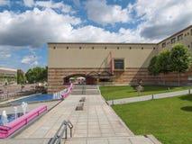 Neue Staatsgalerie in Stuttgart Stockbild