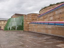 Neue Staatsgalerie in Stuttgart Royalty Free Stock Photo