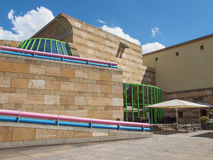 Neue Staatsgalerie in Stuttgart Stock Photo