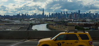 Neue Stadt Stockfoto