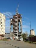 Neue Stadt - Bau Stockfotografie