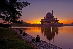 Neue Stadt Putrajayas lizenzfreie stockfotos
