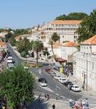 Neue Stadt von Dubrovnik, Kroatien Balkan, adriatisches Meer, Europa Karpaten, Ukraine, Europa Lizenzfreie Stockbilder