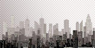 Neue Stadtgrautürme Lizenzfreie Stockfotos