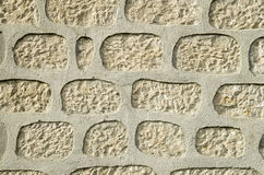 Neue Steinwandnahaufnahme lizenzfreie stockbilder