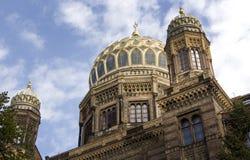 Neue Synagoge (новая синагога) Стоковое Изображение
