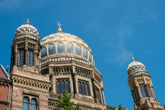 The Neue Synagoge  / New Synagogue in Berlin, Germany Royalty Free Stock Photography