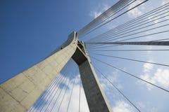 Neue Taipeh-Brücke lizenzfreie stockfotografie