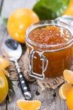 Neue Tangerine-Marmelade lizenzfreies stockbild