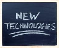 Neue Technologie-Nahaufnahme lizenzfreie stockbilder