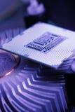 Neue Technologie-Prozessor stockfotos