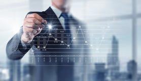 Neue Technologien für Geschäft Gemischte Medien stockfotografie