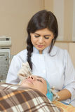Neue Technologien im medizinischen Cosmetology Stockfoto