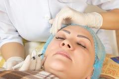 Neue Technologien im medizinischen Cosmetology Lizenzfreies Stockfoto