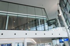 Neue Terminalvorhalle Lizenzfreies Stockbild