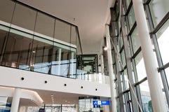 Neue Terminalvorhalle Stockbild