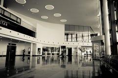 Neue Terminalvorhalle Stockfoto