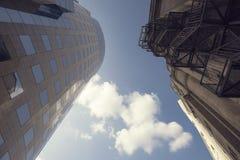 Neue und alte Architektur Stockfotos