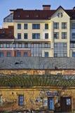 Neue und alte Gebäude Lizenzfreie Stockfotografie