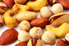 Neue und geschmackvolle persische und arabische Art salzte Nüsse Lizenzfreies Stockfoto