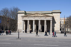Neue Wache building in Berlin Germany Stock Images