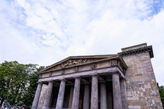 The Neue Wache, a memorial to victims of war and dictatorship in the city of Berlin Germany. Stock Photos
