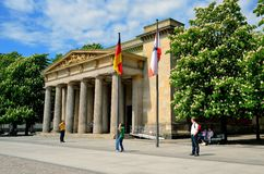 The Neue Wache (New Guard) in Berlin. Stock Image