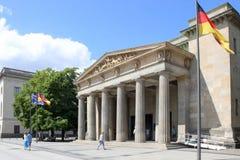 Neue Wache w Berlin przy dniem obrazy stock