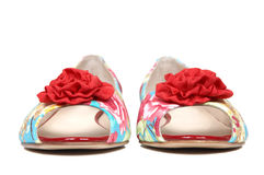 Neue weibliche Schuhe Stockbilder