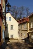 Neue Welt in Prag Lizenzfreie Stockfotografie