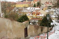 Neue Welt in Prag Stockfoto