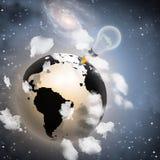 Neue Weltideen Stockbilder