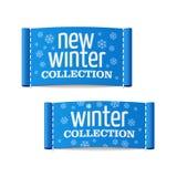 Neue Winterkollektion Lizenzfreie Stockfotografie