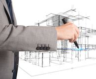 Neue Wohngebiete Lizenzfreie Stockbilder