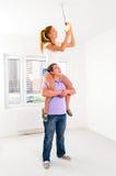 Neue Wohnung Lizenzfreie Stockfotos